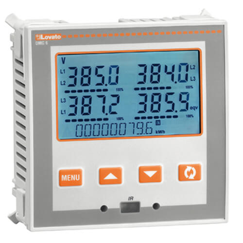 Flush-Mount LCD Multimeter