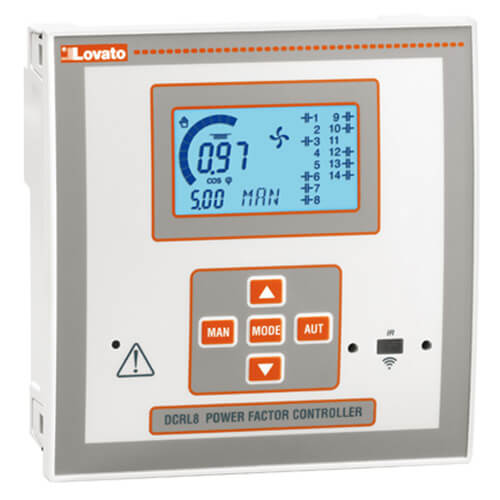 Automatic power factor controller- DCRL Series