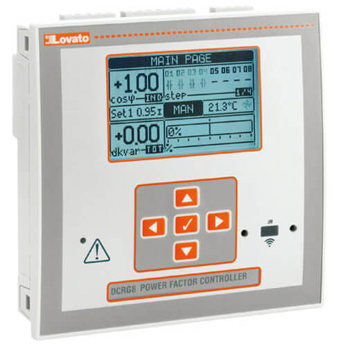 Automatic power factor controller- DCRG Series