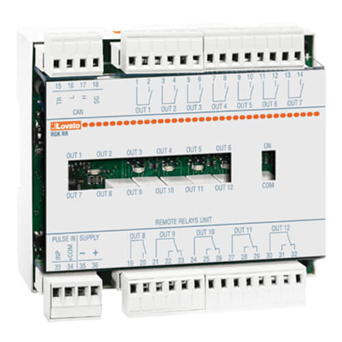 Alarm-status relay unit